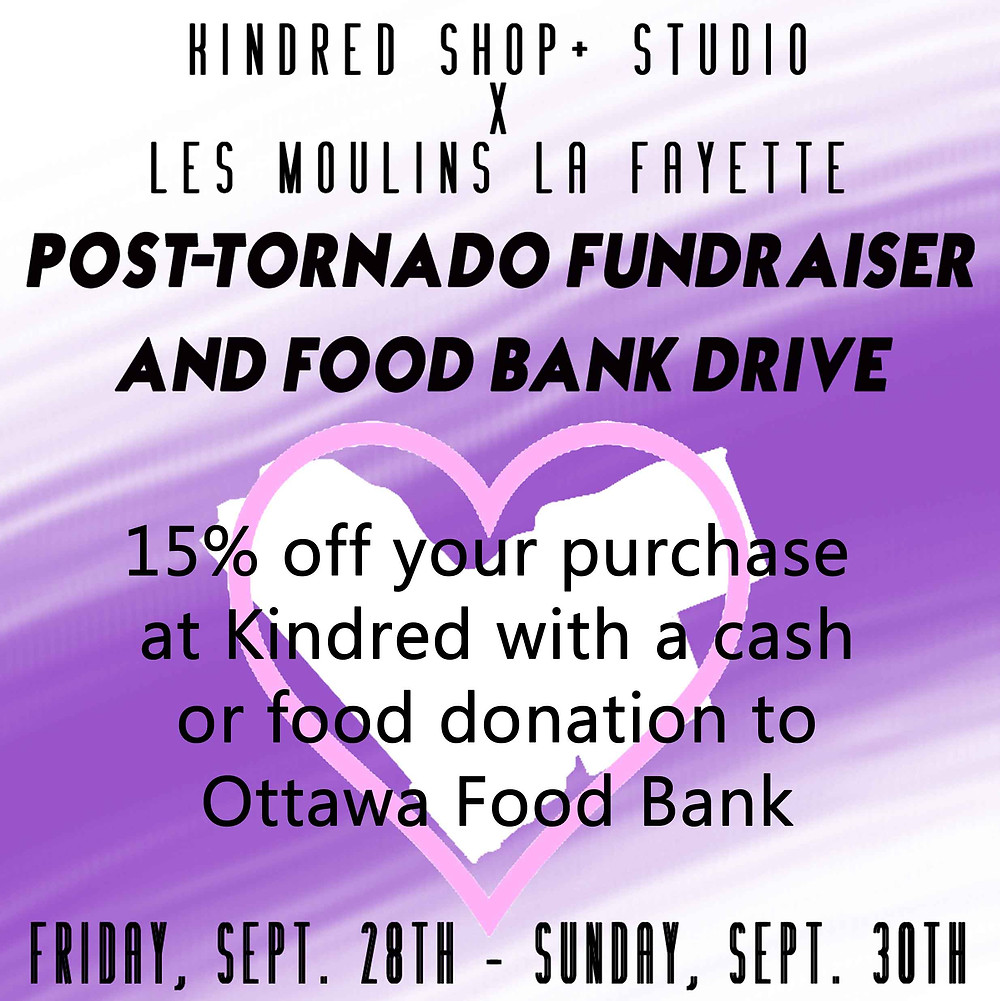 After the Storm-Ottawa Food Bank Fundraiser-Wellington West and Hintonburg