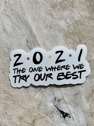 KATUSHA CO. '2021' (sticker) PG11
