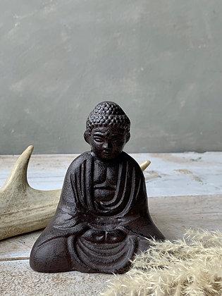 Small Iron Buddha Statue HG12