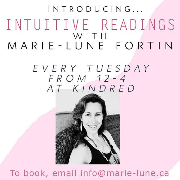 Kindred Spirits IGTV series Marie Lune i