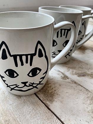 Cat mug Wellington ottawa