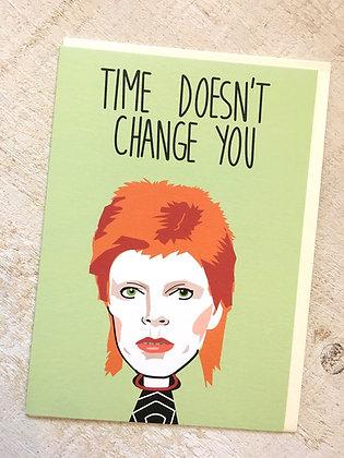 (No) Ch-ch-changes Bowie Birthday 🎉 Card CR51