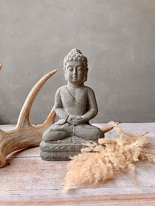 Cement Buddha Statue (does not ship) HG04