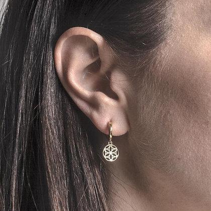 SARASWATI 'Cosmos Earrings' Sterling Silver SWE13