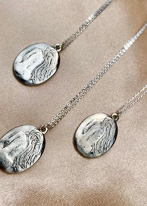 TAMARA STEINBORN 'Siv' ~ Silhouette Pendant in Bronze or Sterling