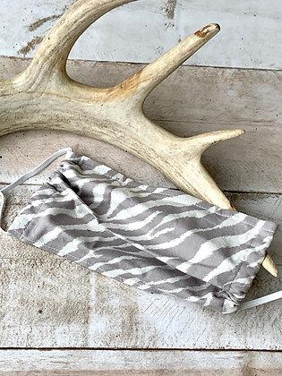YOHAWKE Zebra Print Handmade Mask YH01