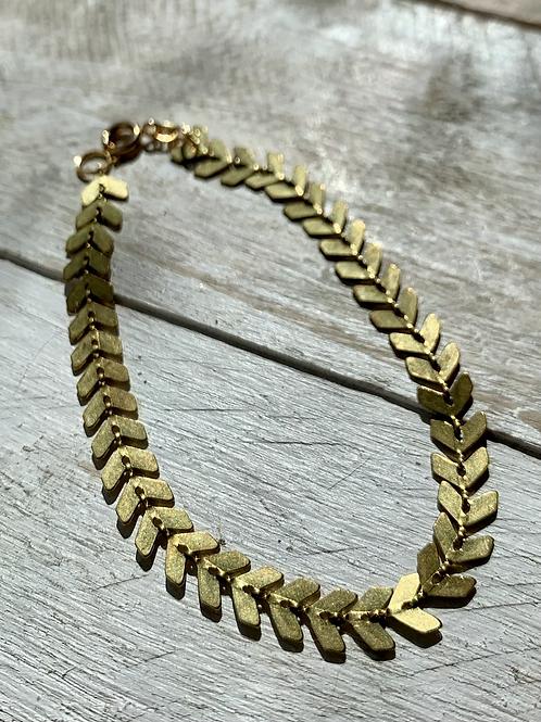Herringbone Link Bracelet FBA23