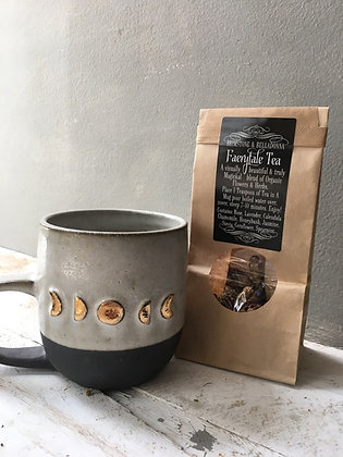 Organic tea blend rose lavender spearmint