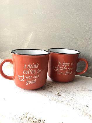 Cute mug bilingual gift ottawa Wellington