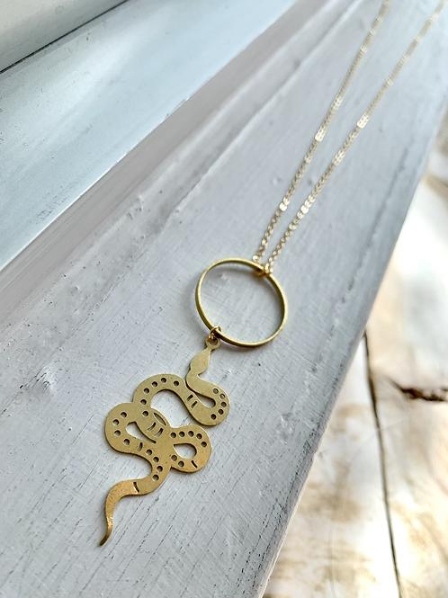 Big Snake Necklace FNA77