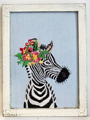 Ottawa Wellington cute embroidery zebra animal gift