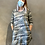 Thumbnail: Loose Fit 3/4 Sleeve Raglan Dress - Camouflage DR09