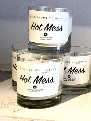 Hot Mess Soy Wax Candle