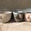Thumbnail: COLD GOLD - small breast planter HG16
