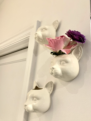 Cat Head Wall Planter HG56