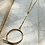 Thumbnail: Overlapping Loop Necklace FNA84