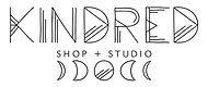 Kindred shop and studio moon phase logo Ottawa Wellington West shop local jewellery goods designer