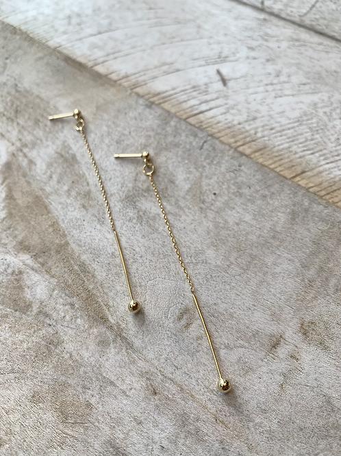 Goldplated Drop Earrings FEA47