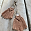 Thumbnail: KNOT YOU KNOT ME 'Dusty Rose' Harper Fringe Earrings KYE06