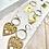 Thumbnail: Cat + Hand + Heart earrings FEA43SET