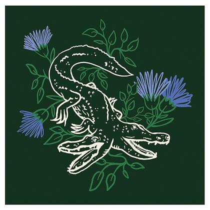 KINDRED & HELLBOUND 'Gators Flora' Print PG22