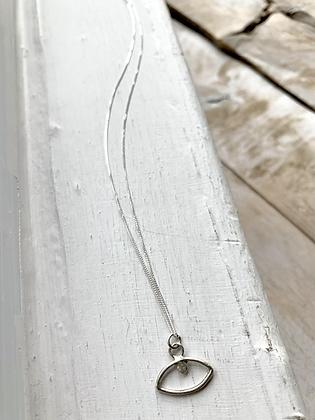 TAMARA STEINBORN 'Blink' Sterling  Silver Necklace TSN80