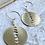 Thumbnail: Moonphase Circle Earrings FEA26