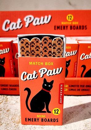 Cat Paw Matchbox Emery Boards HG07