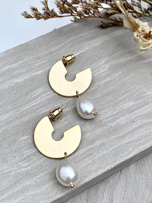 >>>ANSGAR - Freshwater Pearl earrings<<<