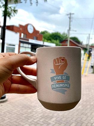 Feminist Ottawa Wellington French mug gift