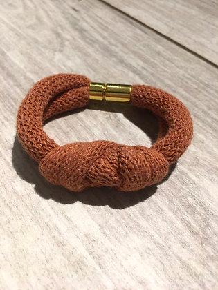 KNOT YOU KNOT ME 'Pale Rust' Chunky Bracelet KYB04