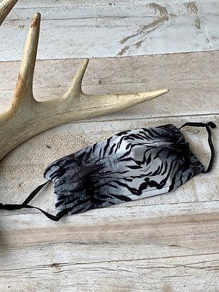 YOHAWKE B+W Animal Print Handmade Mask YH10
