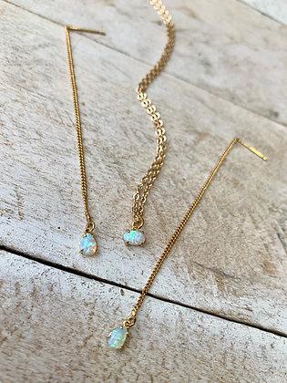 FRÜG  Simple Opal Necklace FNA01