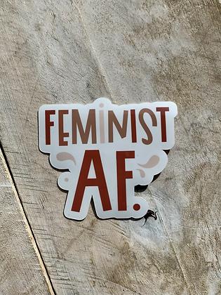 KATUSHA CO. 'Feminist AF' (sticker) PG14