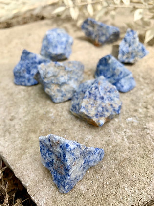 Blue Sodalite Nuggets (delivery/in store pick up only)