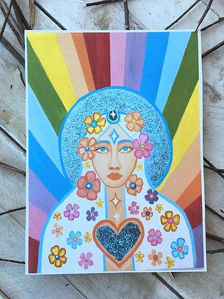 JULIANA LACHANCE Goddess Print