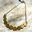 Thumbnail: Bracelet with Circular Brass Detail FBA13