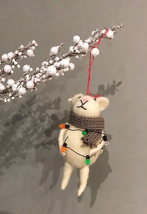 Cute gift idea mouse tree ornament Christmas ottawa Wellington west