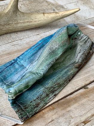 YOHAWKE Blue Ombré Handmade Mask YH08