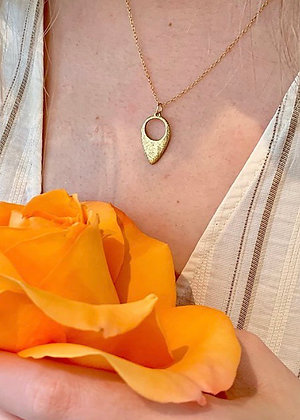TAMARA STEINBORN 'Valkyrie' Necklace in Bronze (TSN41) or Sterling (TSN46)