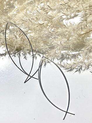 FRÜG 'Zora' Silverplate Wire Earrings FE55