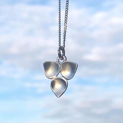 REBEL SOUL DESIGN Sterling Rain Blossom Necklace