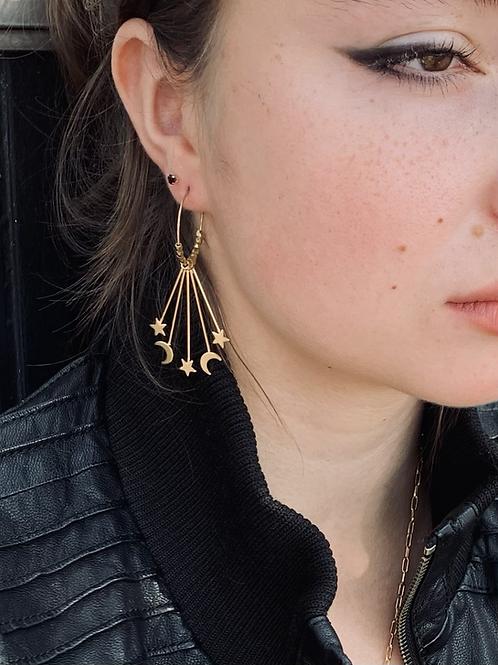 Celestial Loop Earrings FEA44