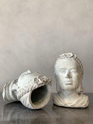 Frida Kahlo Planter Bust HG51 (does not ship)
