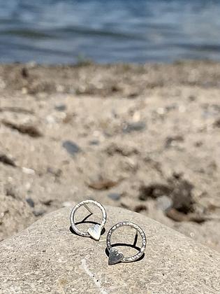 TAMARA STEINBORN 'Aimie' Sterling Silver Earrings TSE14