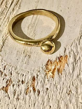 TAMARA STEINBORN 'Ares' Bronze or Sterling Ring