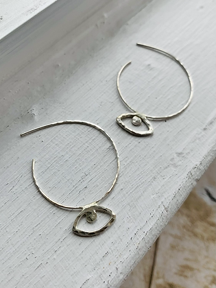 TAMARA STEINBORN 'Orbit' Sterling  Silver Earrings TSE12