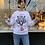 Thumbnail: Anti-Social Tiger sweatshirt - white and black SW06