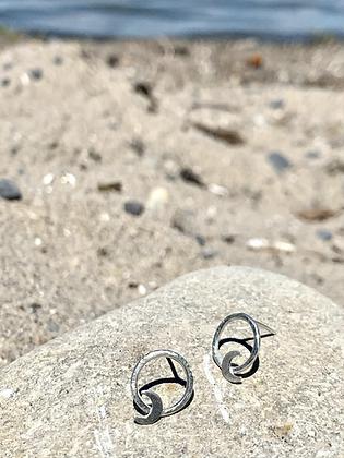 TAMARA STEINBORN 'Elara' Sterling  Silver Earrings TSE11