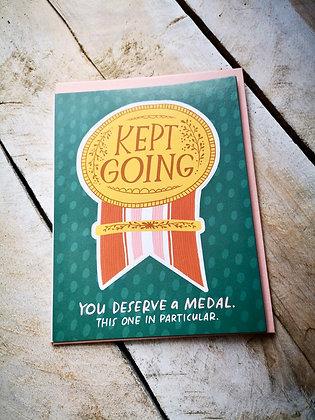 Greeting card Wellington ottawa motivation hintonburg sticker